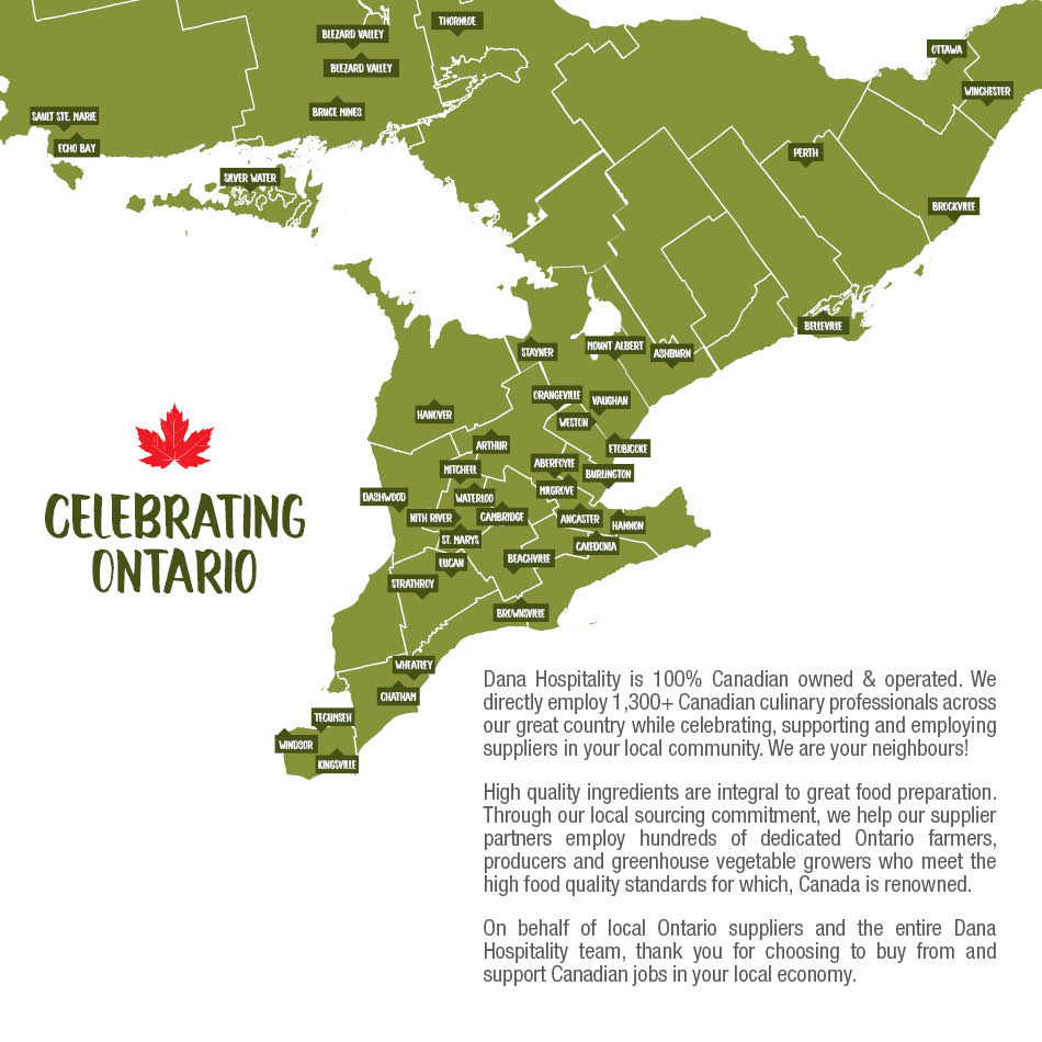 Celebrating Ontario Map